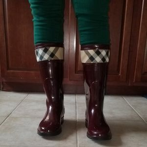 Burberry Shoes - Burberry Crosshill Check Rainboots
